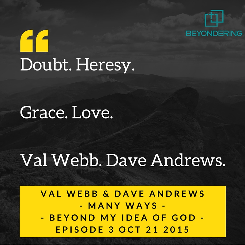 Podcast 3 – Many Ways – Beyond My Idea of God.